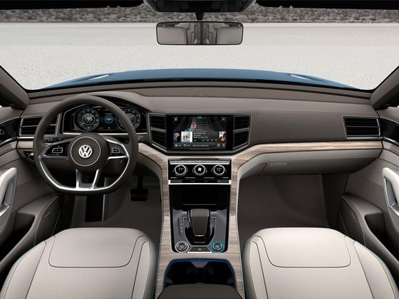 Volkswagen CrossBlue concept interior