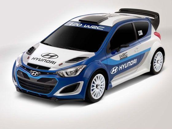 Hyundai WRC spec i20 model
