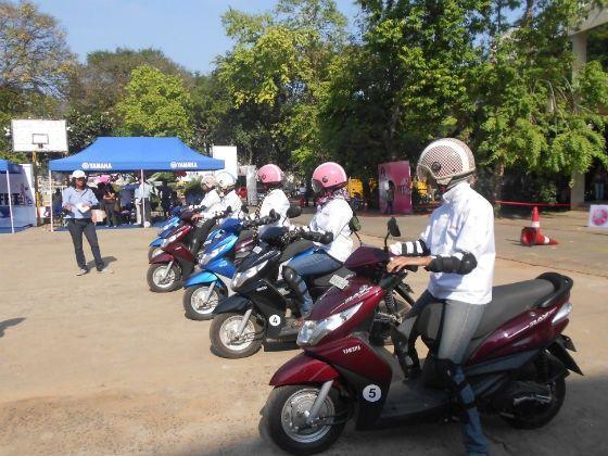 Yamaha Female Riding Training Program