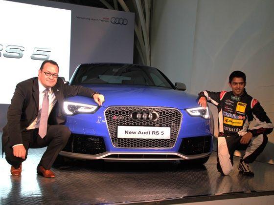 2013 Audi RS5 launch
