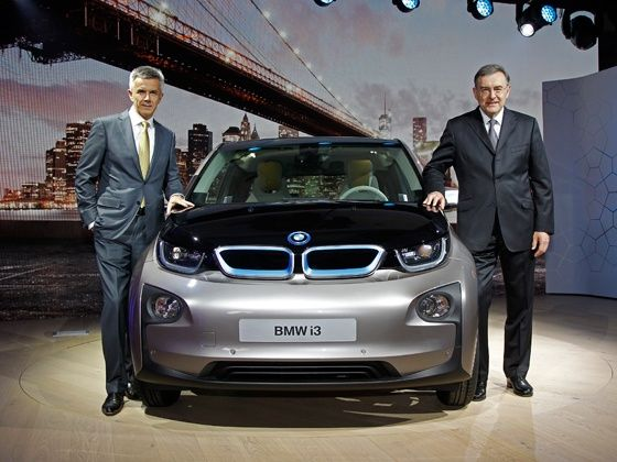 BMW i3 makes its World Premiere