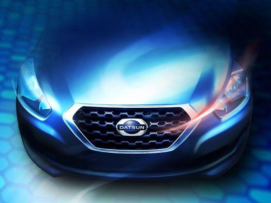 Datsun model rendering