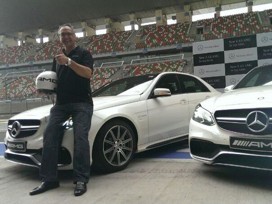 Mercedes-Benz E63 AMG launch at BIC