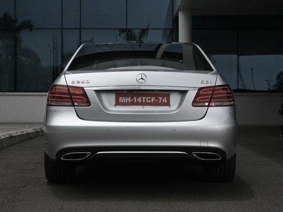 2013 Mercedes-Benz E-Class drive rear