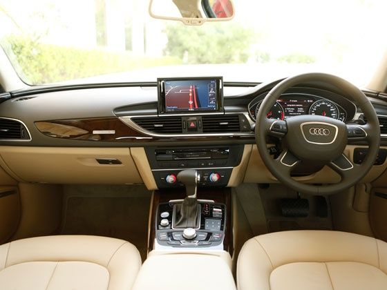 Audi A6 special edition front cabin