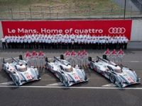 Audi aims for its 12th victory at Le Mans in 2013
