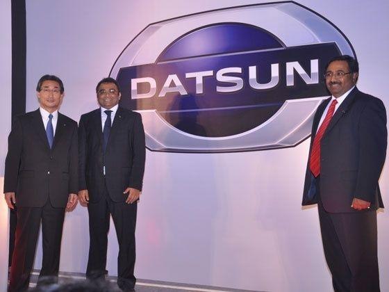 Datsun brand logo unveiling