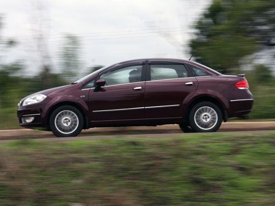 Fiat Linea T-jet drive