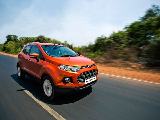 Ford EcoSport drive