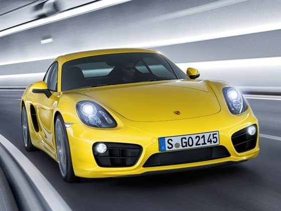 New Porsche Cayman S