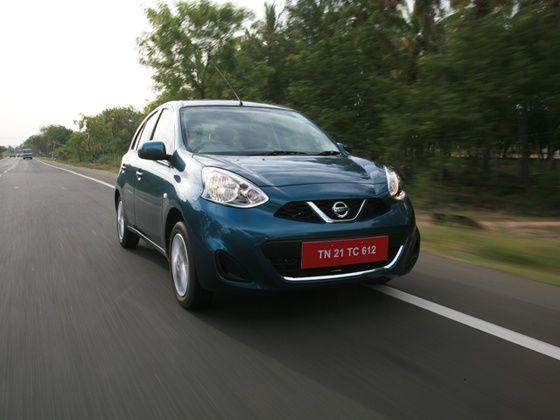 Nissan Micra facelift drive