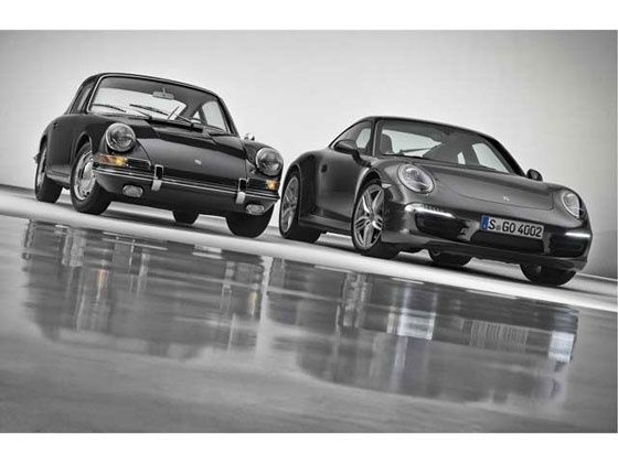 Porsche 911 new vs old