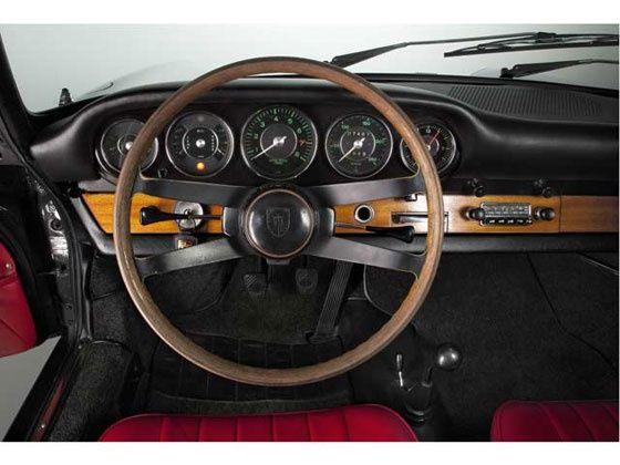 porsche vintage steering