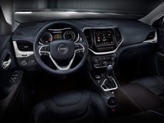 2014 Jeep Cherokee interior