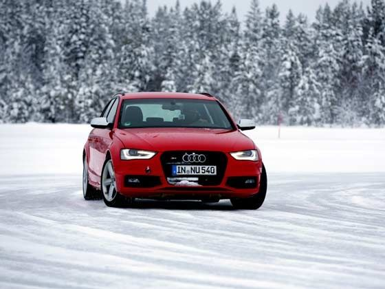 Audi Ice Drive Experience