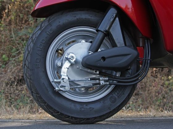 The new Activa gets tubeless tyres as standard