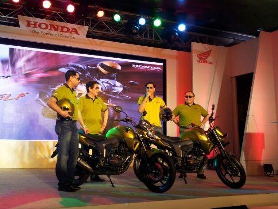 Honda CB Trigger being unveiled