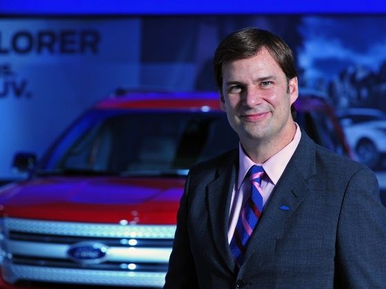 James Farley, Global CMO, Ford
