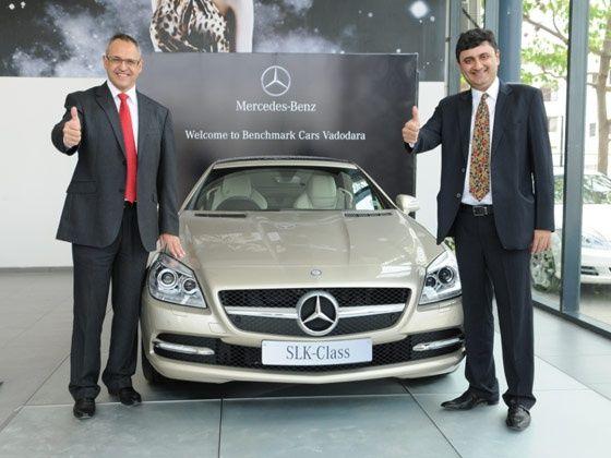 Mercedes-Benz opens first showroom in Vadodara