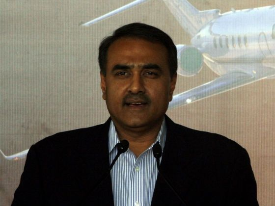 Praful Patel, Heavy Industries Minister