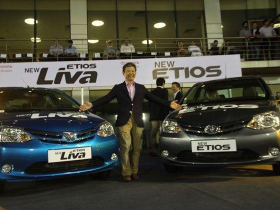 2013 Toyota Etios and Etios Liva Launched