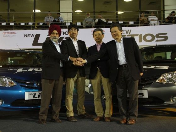 2013 Toyota Etios and Etios Liva Launched
