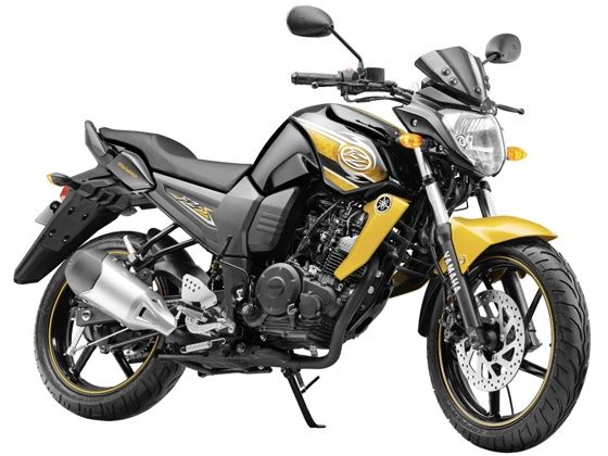 2013 Yamaha FZ-S in a new shade of  Glory Gold