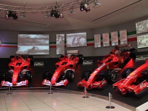 Ferrari Formula One cars