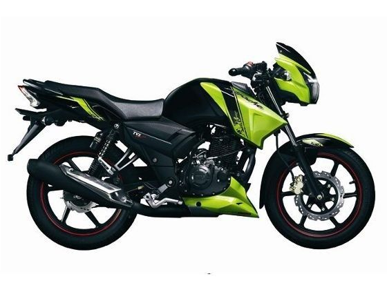 TVS Apache RTR 180 side shot