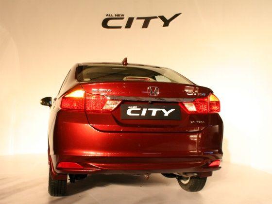 Honda City Rear