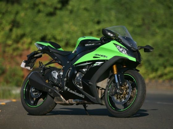 Kawasaki ZX-10R ABS static shot