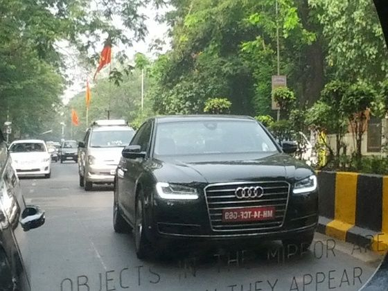 2014 Audi A8 Spotted