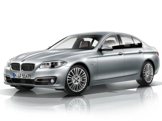 Face-lifted BMW 5 Series