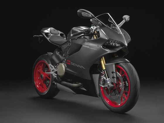 Ducati 1199 Panigale S Senna Limited Edition front shot