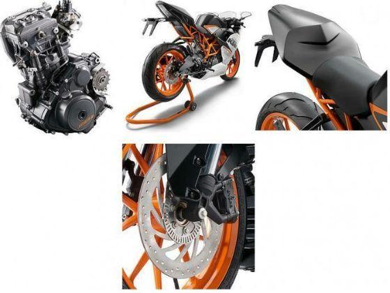 KTM RC 390 details image
