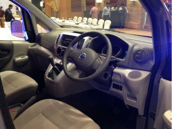 Nissan Evalia Refreshed launched - Interior