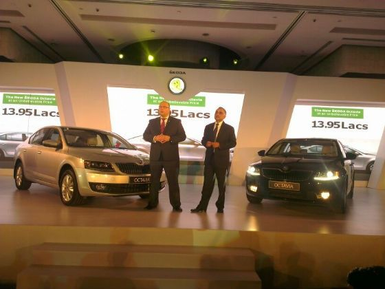 New Skoda Octavia launched