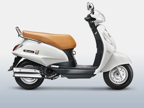 Suzuki Access Being Human edition side shot