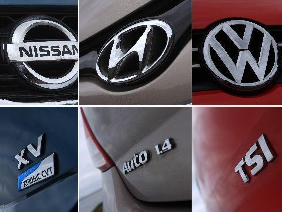 Automatic hatchbacks logos