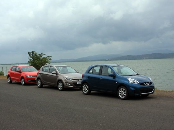 Automatic hatchbacks compared