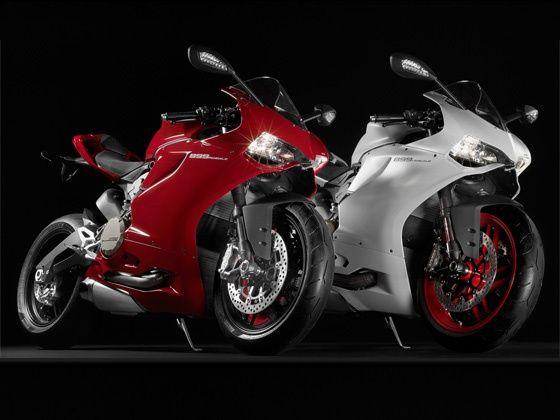 Ducati 899 Panigale studio shot