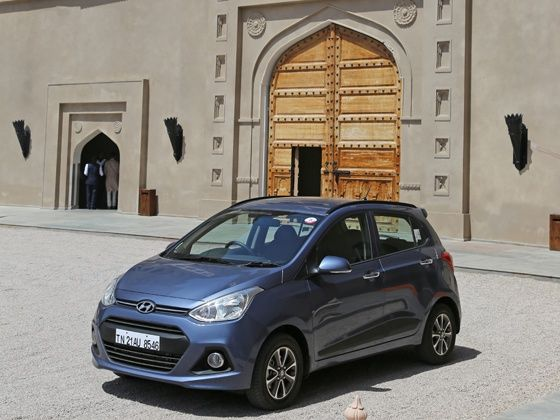 Hyundai Grand i10 looks and styling