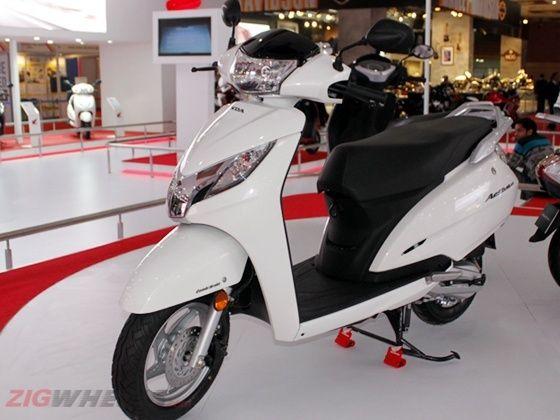 New Honda Activa 125 white shade
