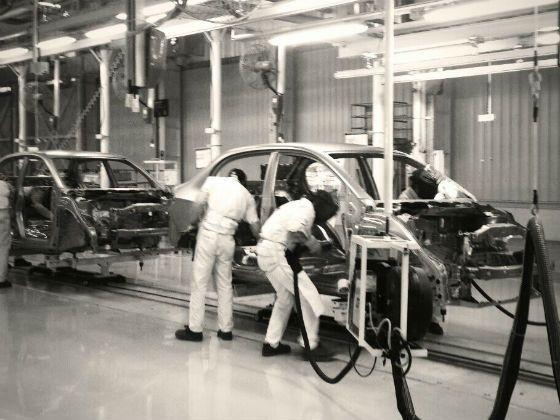 Honda Amaze production at Tapukara plant