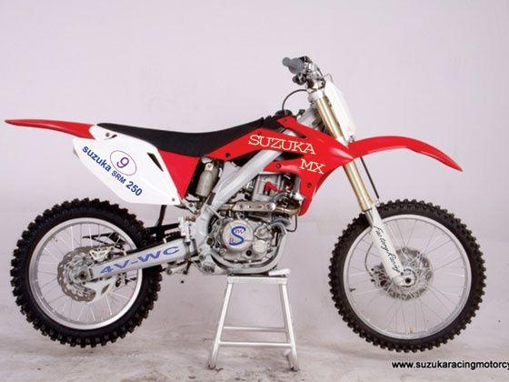 Suzuka Racing India 250cc motocross bike