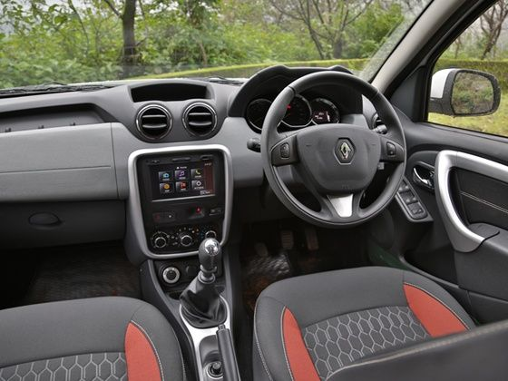 Renault Duster 2014 Interior 2014 Renault Duster 4x4