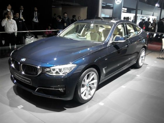 BMW 3 Series GT at 2014 Auto Expo