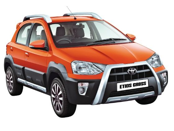 Toyota Etios Cross at the 2014 Indian Auto Expo