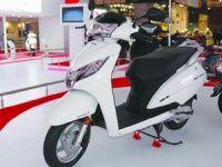 Honda Activa 125 at Auto Expo 2014