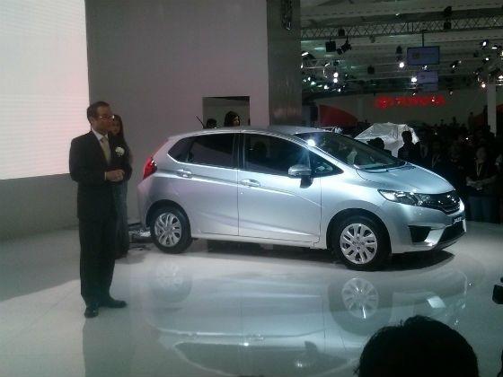 Honda Mobilio unveil at 2014 Auto Expo